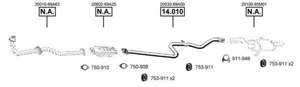 NI142270 Exhaust System