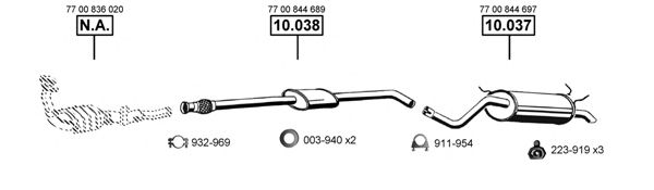 RE102330 Exhaust System