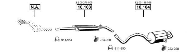 RE102470 Exhaust System