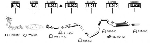 VO183700 Exhaust System