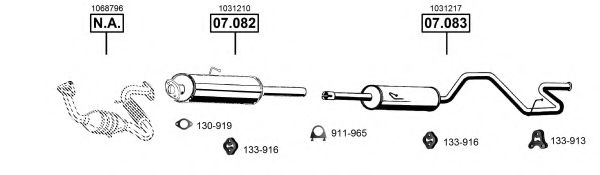 FO075260 Exhaust System