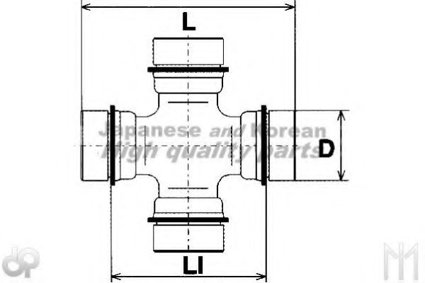 0876-4105 Joint, propshaft