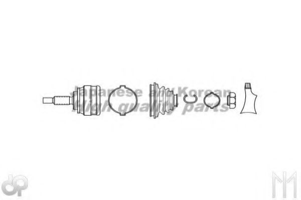 TO-776I Final Drive Joint Kit, drive shaft