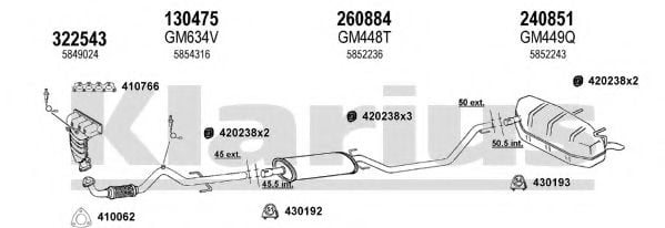 391477E Exhaust System