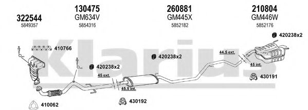 391678E Exhaust System