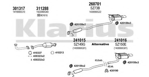 820142E Exhaust System