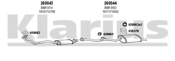 060121E Exhaust System