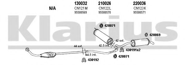 180077E Exhaust System