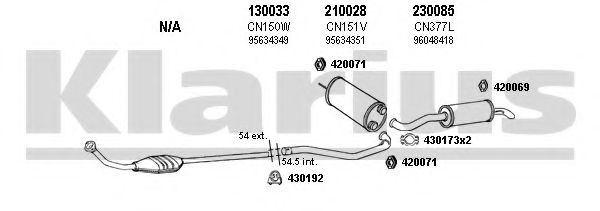 180360E Exhaust System