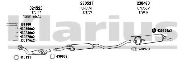 180370E Exhaust System