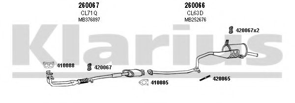 210047E Exhaust System