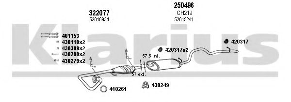 220019E Exhaust System