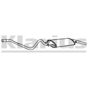 250254 Pipe Connector, exhaust system