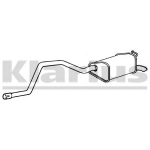 250465 Pipe Connector, exhaust system