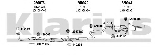 270207E Exhaust System