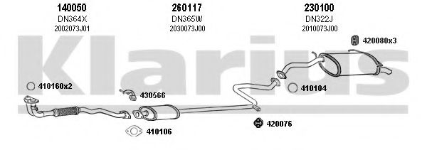 270261E Exhaust System