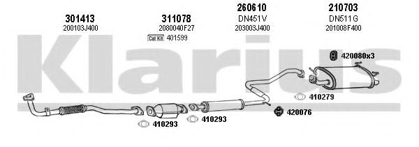 270387E Exhaust System