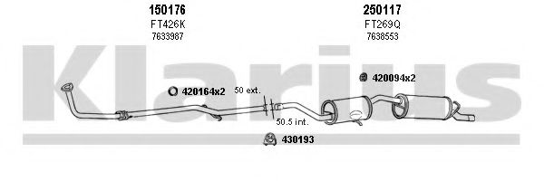 330148E Exhaust System