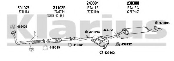 330313E Exhaust System