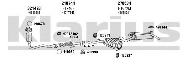 330830E Exhaust System
