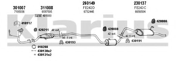 360693E Exhaust System