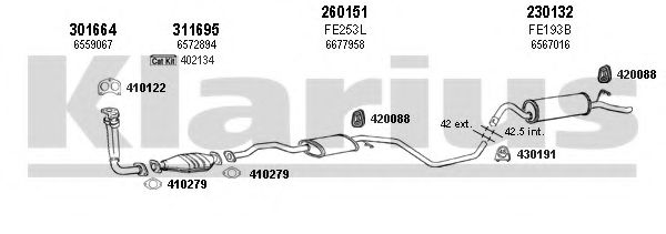 360703E Exhaust System