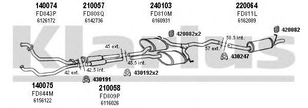 360906E Exhaust System