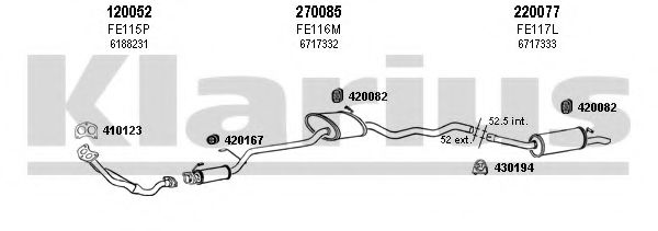 360940E Exhaust System