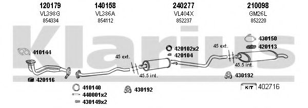 390350E Exhaust System