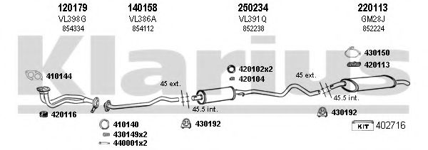 390356E Exhaust System