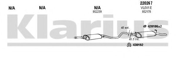 390390E Exhaust System