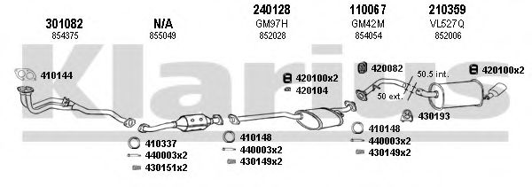 390421E Exhaust System