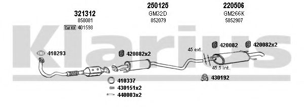 390895E Exhaust System