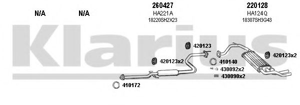 420116E Exhaust System