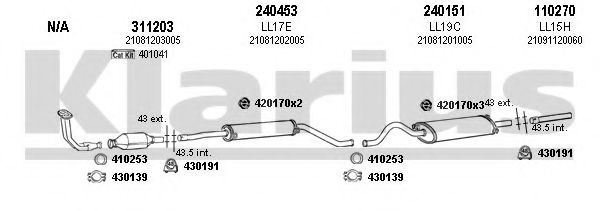 490021E Exhaust System