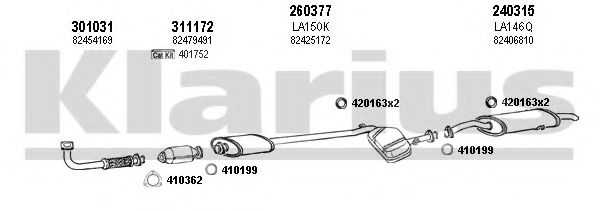 510073E Exhaust System