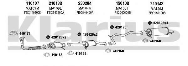 570068E Exhaust System