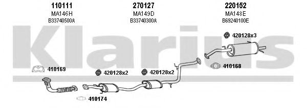570084E Exhaust System