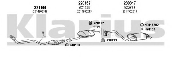 600114E Exhaust System