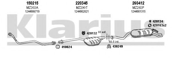 600328E Exhaust System