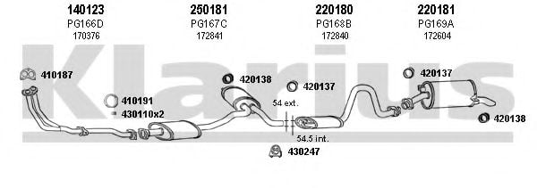 630091E Exhaust System