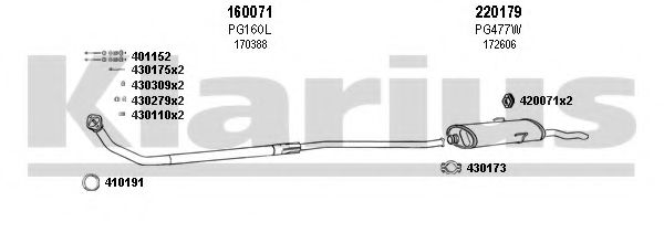 630380E Exhaust System