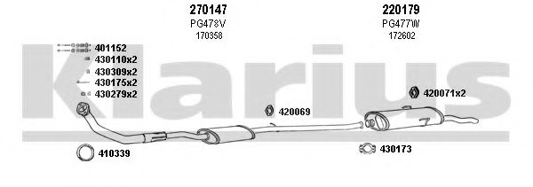 630392E Exhaust System