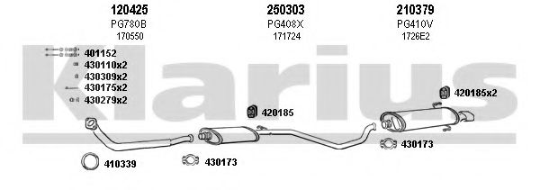 630526E Exhaust System