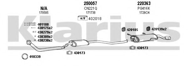 630532E Exhaust System