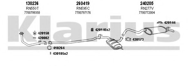 720345E Exhaust System