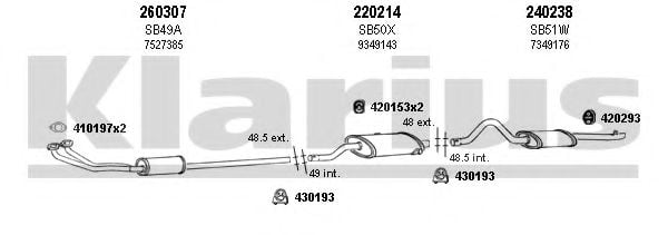 750021E Exhaust System