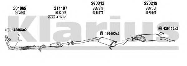 750041E Exhaust System