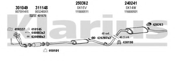 780008E Exhaust System