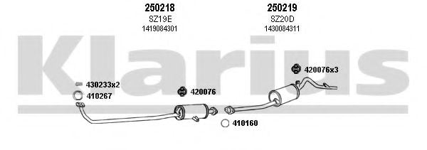 820015E Exhaust System